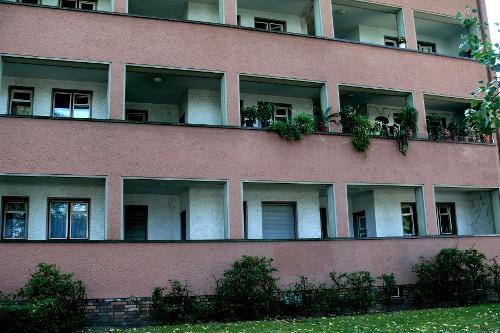 Laubenganghäuser - Zeugen einer grünen Idee