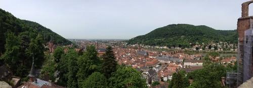 als Student in Heidelberg